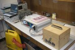 Stanowisko do testowania detektorów MPPC dla detektora SMRD - T2K